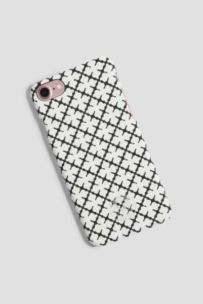 By Malene Birger Etui na iPhone 7 Pamsy - White,Multicolor
