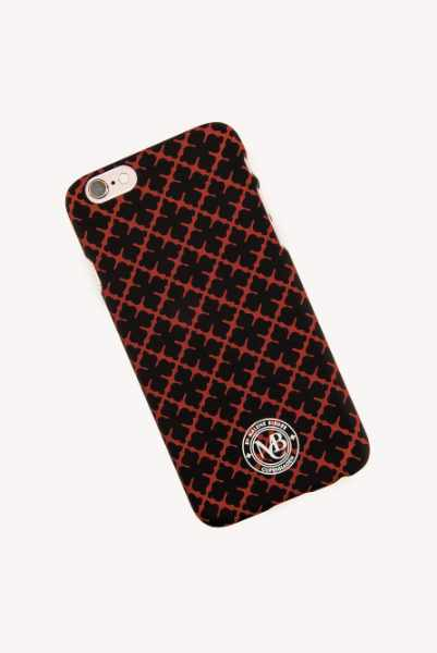 By Malene Birger Etui na telefon iPhone 6 Pamsy - Black,Red,Multicolor