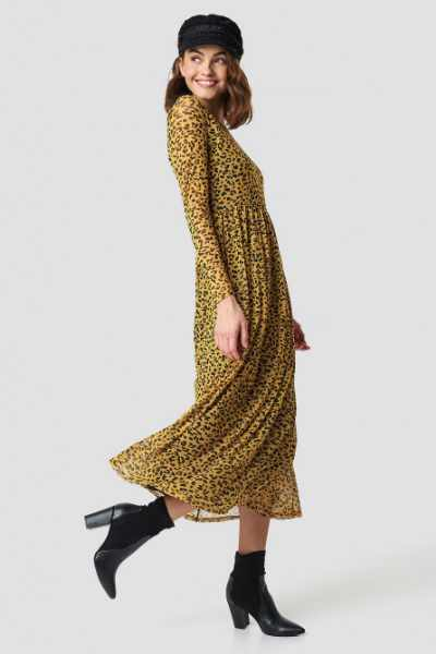 Sisters Point Gia Long Dress - Yellow