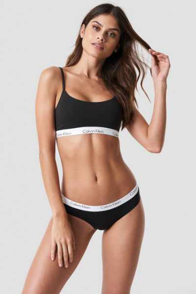 Calvin Klein Bikini One Cotton - Black