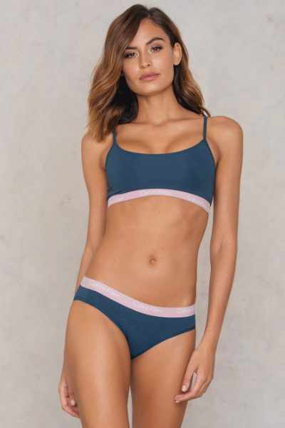 Calvin Klein Bikini One Cotton - Blue