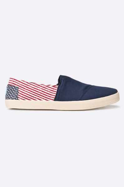 Toms - Buty CANVAS FLAG MENS AVALON SNEAKE