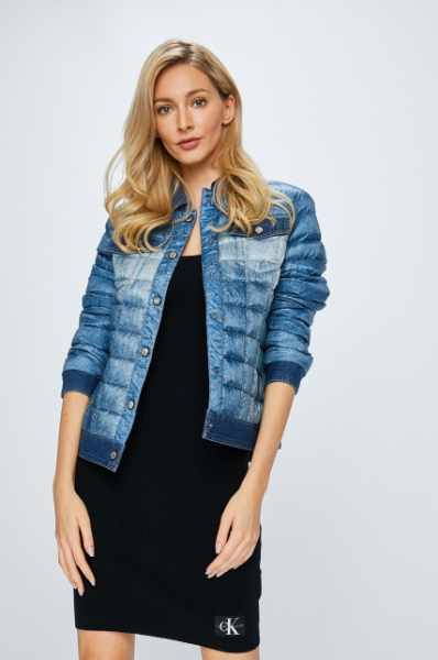 d35ff5ce8fdd3 Guess Jeans - Kurtka puchowa Eugenia cena sklep internetowy