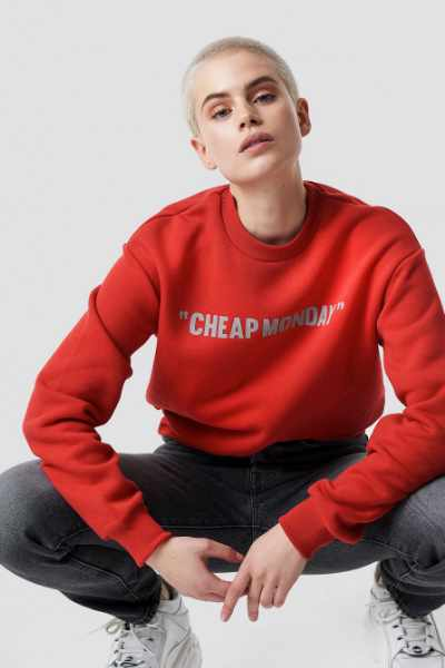 Cheap Monday Get Sweat Cheap Review - Red
