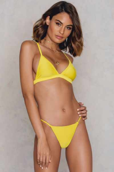 Hot Anatomy Dół bikini Brazilian - Yellow